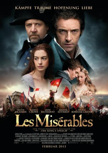 Filmplakat Les Misérables
