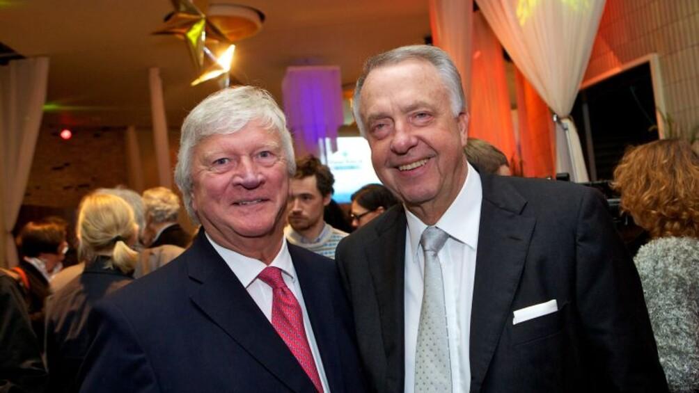 Eberhard Junkersdorf und Staatsminister Bernd Neumann