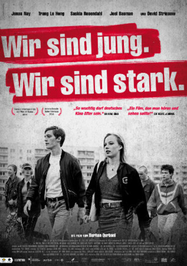 Filmplakat Wir sind jung. Wir sind stark