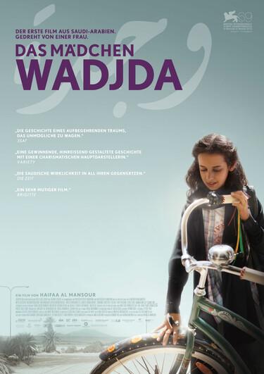 """Filmplakat """"Das Mädchen Wadjda"""""""