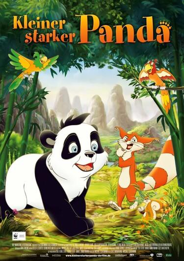 Filmplakat Kleiner starker Panda