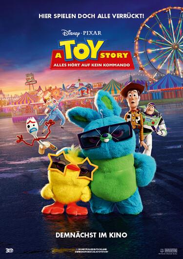 Filmplakat Toy Story 4 - Alles hört auf kein Kommando