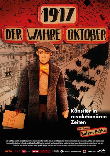 Filmplakat 1917 - Der wahre Oktober