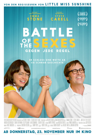 Filmplakat Battle of the Sexes