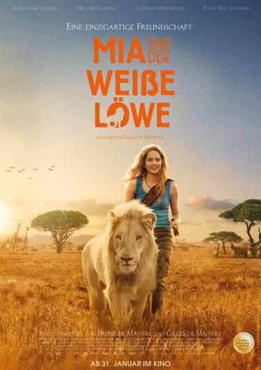 Filmplakat Mia und der weiße Löwe
