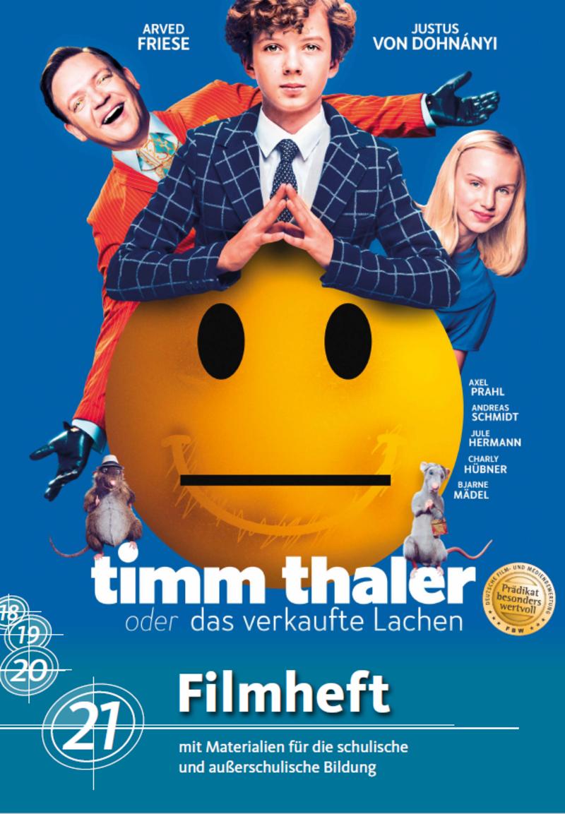Titelbild des Filmheftes Timm Thaler