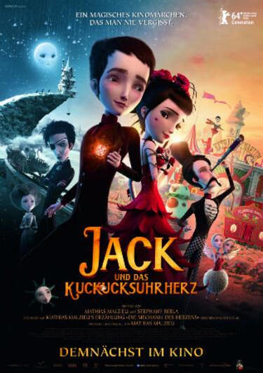 """Filmplakat zu """"Jack und das Kuckucksuhrenherz"""""""