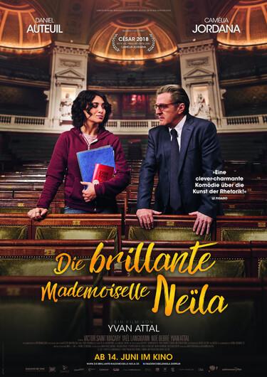 Filmplakat Die brillante Mademoiselle Neila