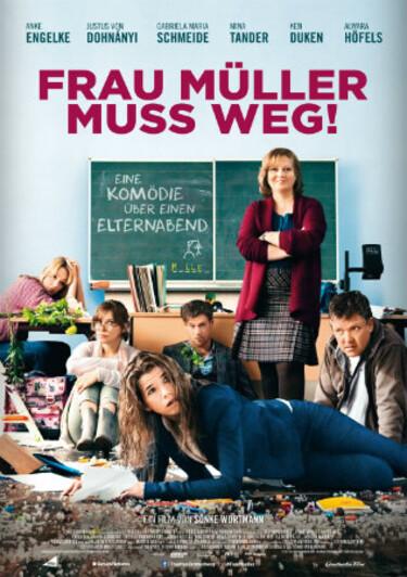 Filmplakat Frau Müller muss weg