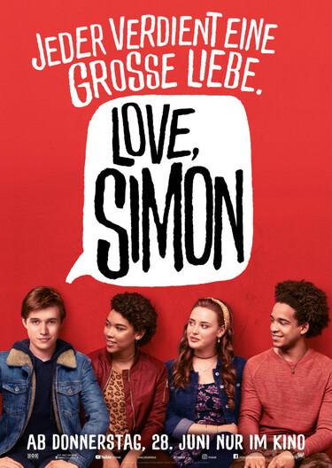 Filmplakat Love, Simon