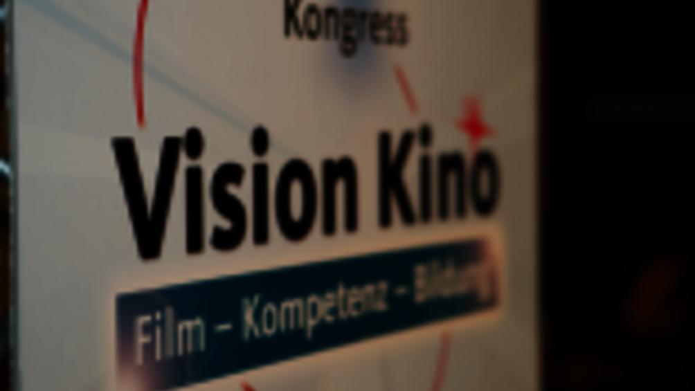 Ausschnitt Roll-Up Vision Kino Kongress