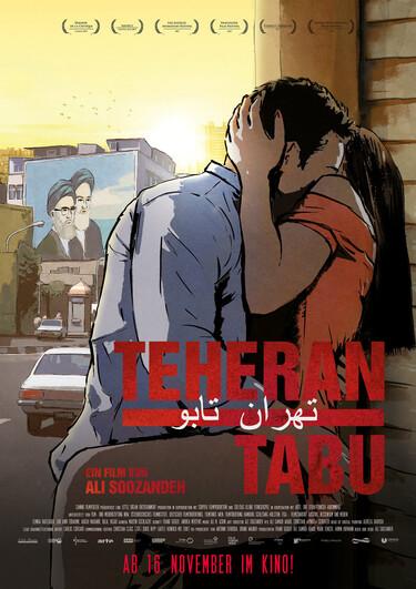 Filmplakat Teheran Tabu