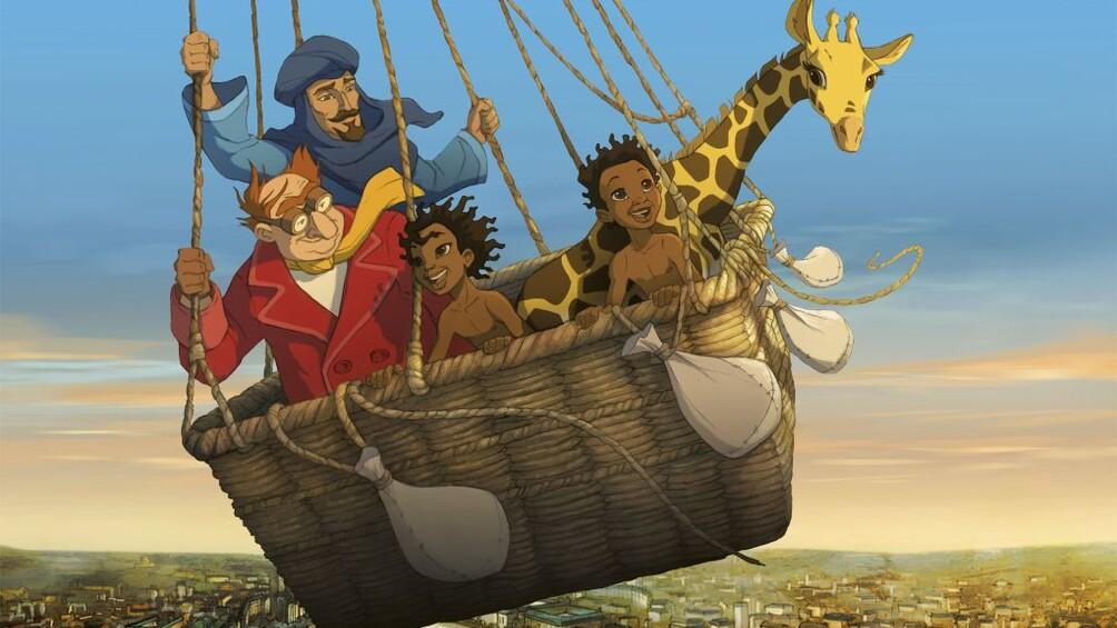 Die Abenteuer der kleinen Giraffe Zarafa, Alamode Film 2012