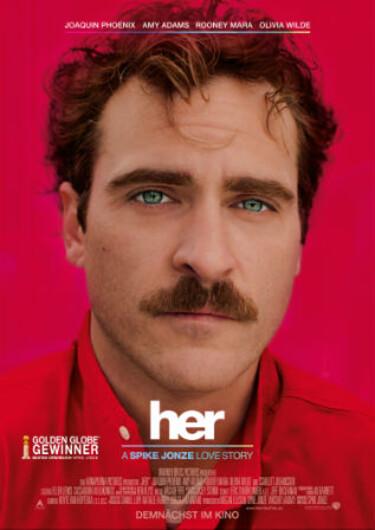 """Filmplakat zu """"Her"""""""