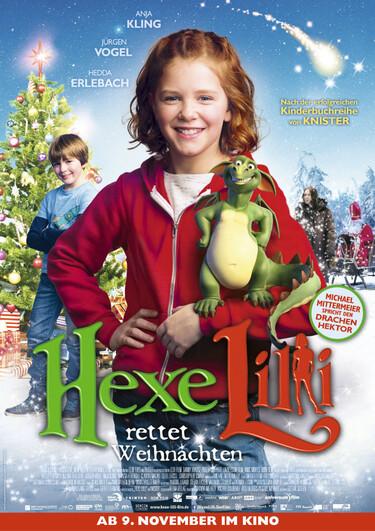 Filmplakat Hexe Lilli rettet Weihnachten