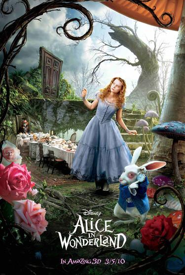 """Filmplakat zu """"Alice im Wunderland"""""""