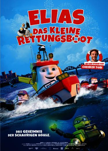 Filmplakat zu Elias, das kleine Rettungsboot, Polyband Medien 2018
