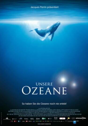 """Filmplakat zu """"Unsere Ozeane"""""""