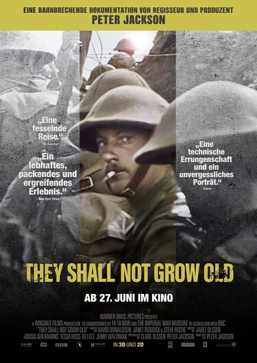 Filmplakat They Shall Not Grow Old
