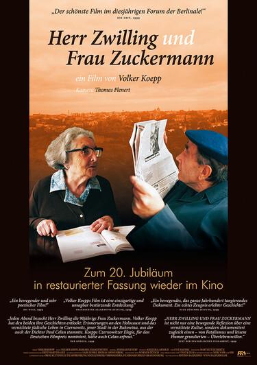 Filmplakat Herr Zwilling und Frau Zuckermann