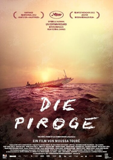 """Filmplakat zu """"Die Piroge"""""""