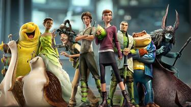 Szenenbild: Gruppenbild der Hauptprotagonisten