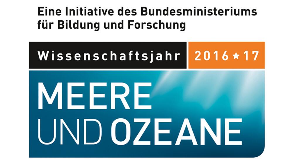 Logo zum Wissenschaftsjahr 2016*17 - Meere und Ozeane