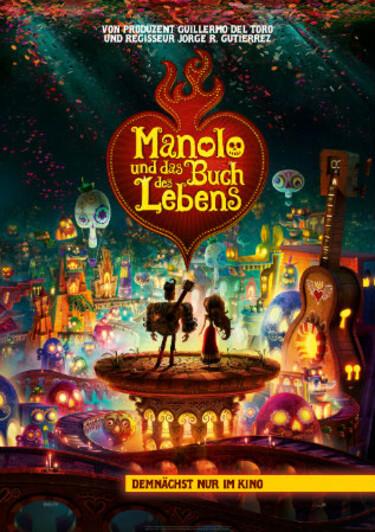 Filmplakat Manolo und das Buch des Lebens