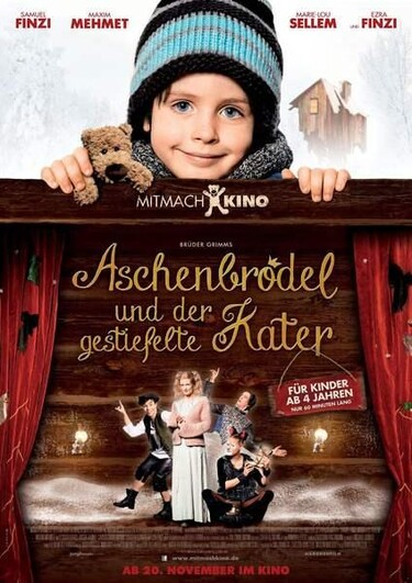 """Filmplakat zu """"Aschenbrödel und der gestiefelte Kater"""""""