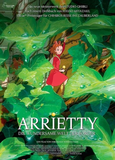"""Filmplakat zu """"Arrietty - Die wundersame Welt der Borger"""""""