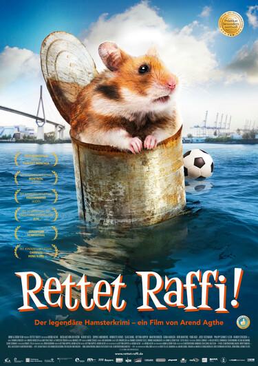 """Filmplakat zu """"Rettet Raffi!"""""""