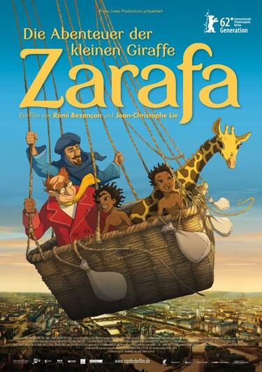 Filmplakat Die Abenteuer der kleinen Giraffe Zarafa