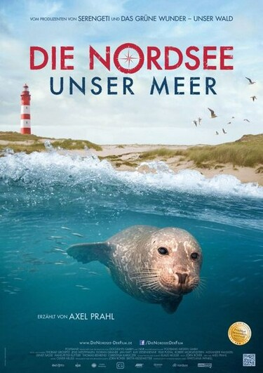 Filmplakat Die Nordsee - Unser Meer