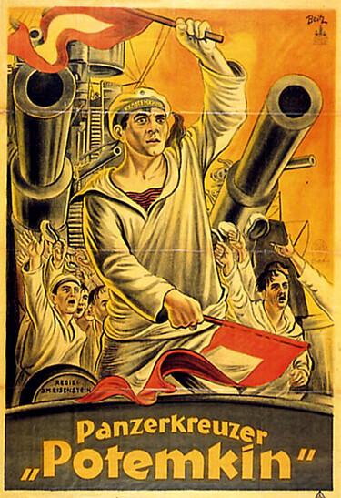 Plakat zu Panzerkreuzer Potemkin