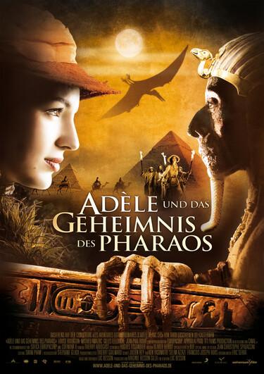 """Filmplakat zu """"Adèle und das Geheimnis des Pharaos"""""""