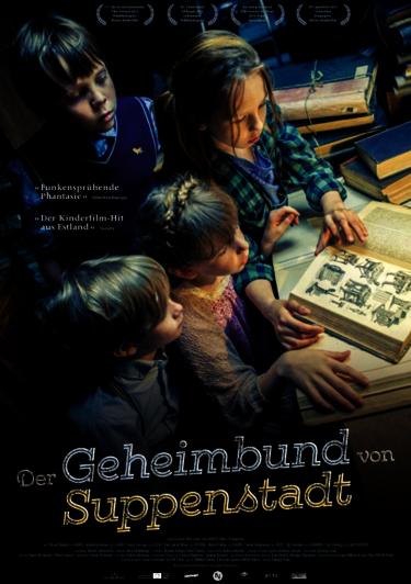 Filmplakat Der Geheimbund von Suppenstadt