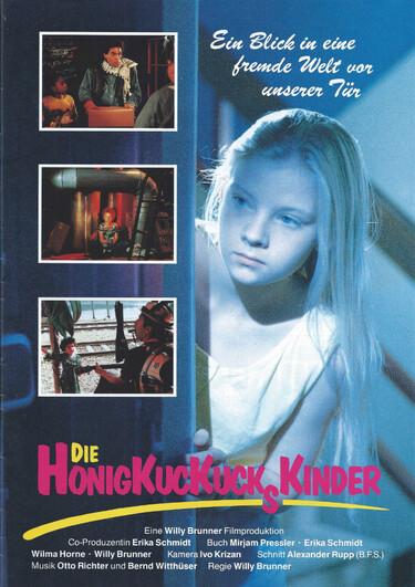 Filmplakat Die Honigkuckuckskinder,