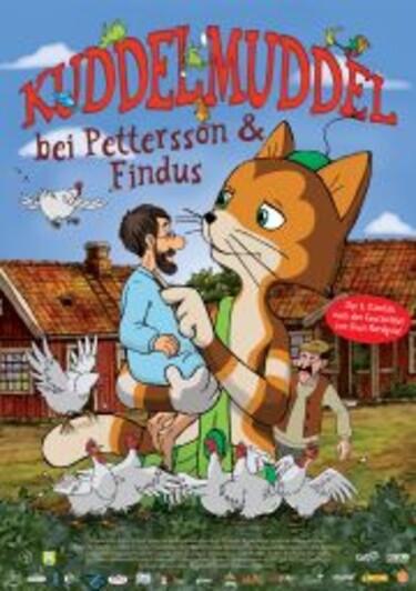 """Filmplakat zu """"Kuddelmuddel bei Pettersson & Findus"""""""