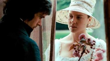 Szenenbild: Der 23-jährige englische Dichter John Keats und die 17-jährige Fanny Brawne