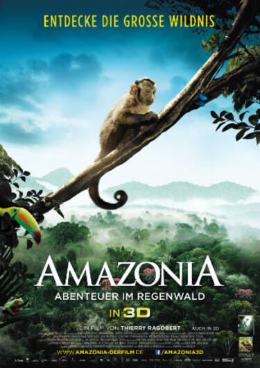 """Filmplakat zu """"Amazonia - Abenteuer im Regenwald"""""""