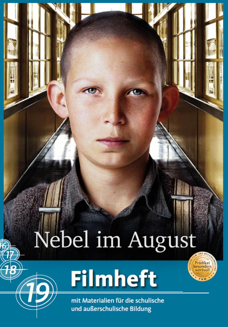 Abbildung des Covers des Filmheftes Nebel im August