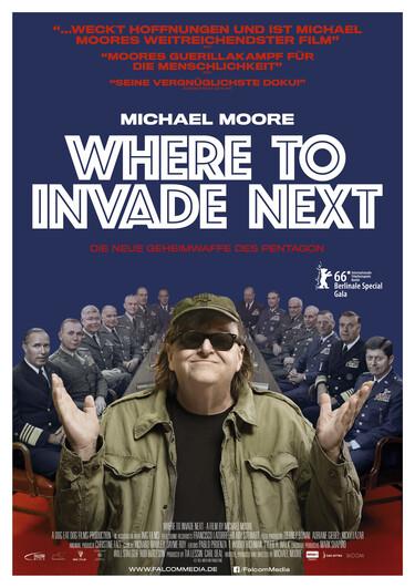 Filmplakat zu Where to Invade Next