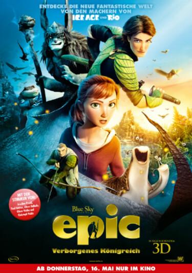 """Filmplakat zu """"Epic - Verborgenes Königreich"""""""