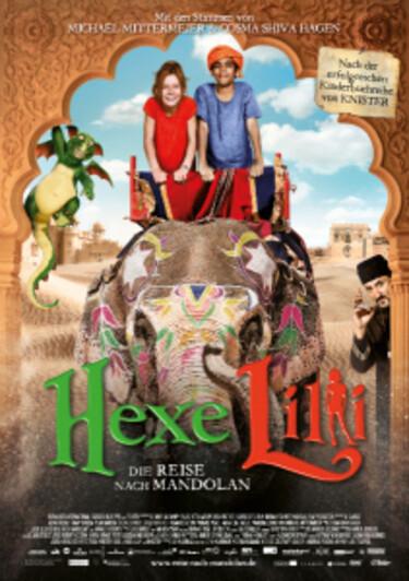 """Filmplakat zu """"Hexe Lilli - Die Reise nach Mandolan"""""""