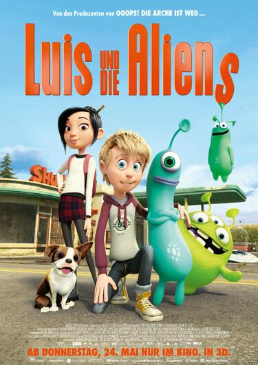 Filmplakat Luis und die Aliens