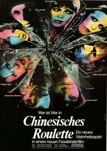 Filmplakat Chinesisches Roulette