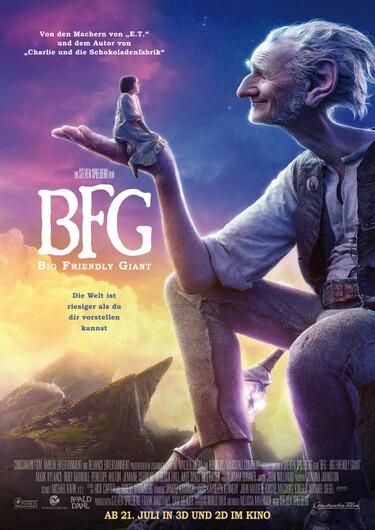 Filmplakat BFG - Big Friendly Giant
