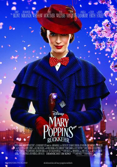 Filmplakat Mary Poppins Rückkehr