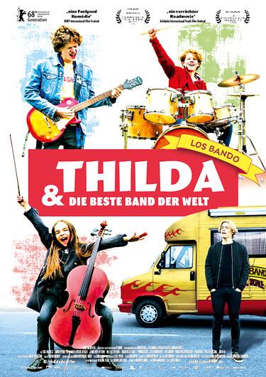 Filmplakat Thilda & die beste Band der Welt