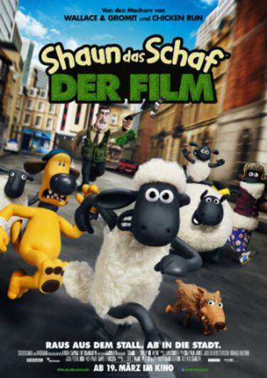 Filmplakat Shaun das Schaf